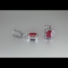 Emerald Cut Ruby